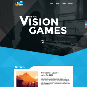 Vision Games desktop